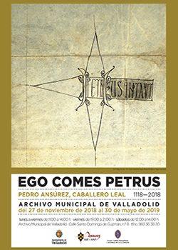 Exposición EGO COMES PETRUS. PEDRO ANSÚREZ, CABALLERO LEAL (1118-2018)